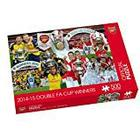 "Paul Lamond Games ""Arsenal 2014-15 Double FA Cup Winners"" Puzzle (500-Piece)"
