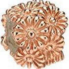 Elements Silver Sterling Silver Rose Gold Multi Flower Bead