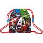Avengers gymnastikpose med Hulk, Iron man, Thor & Captain America - 32x40 cm