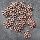 Smykkedel - Mellemdel, kobber ringe, 14mm, 20 stk