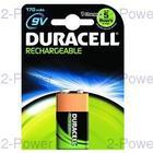 Duracell Uppladdningsbara 9V 1-Pack