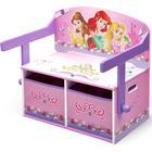 Delta Children Princess 3-in-1 Storage Bench & Desk