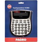 PAGRO Taschenrechner \´´KC844\´´ Dualpower silber