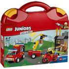 Lego Juniors Brandpatruljekuffert 10740
