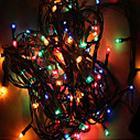 mx-qcd 100L 10 meter dekorere lys snor bringe ferie juletræ lys blinker automatisk farveskift