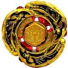 Takara Beyblade L-Drago Destroy Gold