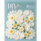 Petaloo Utgår! Blommor Petaloo DIY - Mulberry Flower Mix White & Yellow