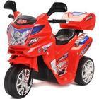 Azeno Night Rider motorcykel - Rød Elektrisk motorcykel med lys og musik