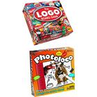 University Games Board Game Bundle - The Logo Game And Photoloco - 2 Items Supplied