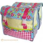 BASIL Jasmin Rosa Double Bag Gepäckträgertasche