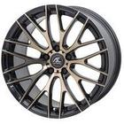 AC-Wheels Syclone Commercial Alloy Wheels Set Of 4 19x8 Inch ET45 5x112 PCD 73.1mm Centre Bore Black Polished Bronze 856Kg Weight Load