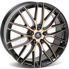 AC-Wheels Syclone Alloy Wheels Set Of 4 20x9.5 Inch ET40 5x120 PCD 72.6mm Centre Bore Black Polished Bronze
