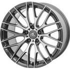 AC-Wheels Syclone Commercial Alloy Wheels Set Of 4 20x9.5 Inch ET40 5x120 PCD 72.6mm Centre Bore Hyper Silver 845Kg Weight Load
