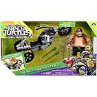 Playmates Turtles Bepop med Motorcykel
