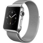 Apple Watch Series 2 38mm Stainless Steel Case with Milanese Loop