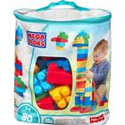 Mega Bloks Big Building Bag Classic 80pcs