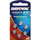 Rayovac 312/PR41 Batteri till hörapparat