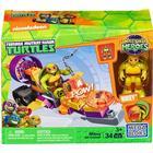 Mega Bloks Teenage Mutant Ninja Turtles Half Shell Heroes Mikey Jet Cruiser