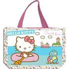 Hello Kitty shopper - strandtaske, turkis