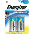 ENERGIZER Batteri C/LR14 Eco Advanced 2-pack