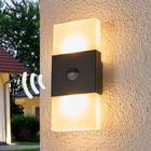 Osram Noxlite Lum Wall dobbelt LED-væglampe m. sensor