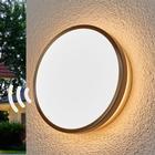 Osram Noxlite Circular LED-udendørs væglampe med sensor
