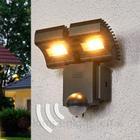 Osram Noxlite Lum LED dobbelt spot med sensor 3000 K