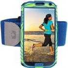 Nathan Sports SonicBoom for Galaxy S4 - Gecko green/Nathan blue