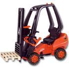 Big Linde Forklift Gaffeltruck