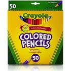 Crayola Long Colour Pencils 50-pack