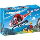 Playmobil Mountain Rescue Helicopter 9127