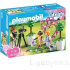 Playmobil Fotograf mit Blumenkindern 9230