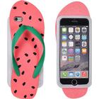 ForCell Soft Silicone 3D Back Case Watermelon Flip Flop (iPhone 7)