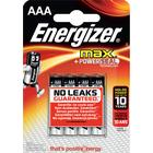 ENERGIZER BATTERIER ENERGIZER MAX AAA 4-PACK