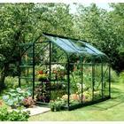 Eden Halls Halls 6x8 Supreme Greenframe Greenhouse + Base-frame - Horticultural Glass
