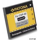 eQuipIT Batteri Casio NP-60 600mAh 3.7V