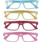 Scotland pastell - set med fyra par läsglasögon (+2.50)