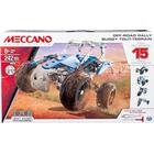 Meccano Off Road Rally 15 Model Set