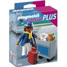 Playmobil Stewardesse med Vogn 4761