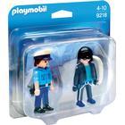 Playmobil Policeman & Burglar 9218