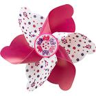 Micro Elephant Windmill Scooter Accessory , Pink/White
