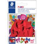 Fimo Plastic Pushmold Bows 5 Loop Motifs