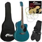 DJM Tiger Blue Electro Acoustic Guitar Pack
