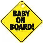 Safety 1st - bilskylt - baby on board