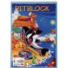 NORDIC Brands Ritblock, spiralbundet, 80 ark, A4, vit