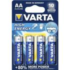 Batteri VARTA High Energy AA, 4 stk LR6