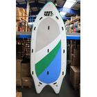 "Ari'Inui Giant Blow SUP board Inflatable XXL - 16'8"" - White / Green / Blue"