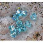 Swarovski crystals Bicone (5328) - Turquoise Lt 4mm, 10- pack