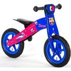 """Volare FC Barcelona Wooden Balance Bike 12"""""""