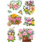 Herma Stickers Decor Nostalgic Flower Pots